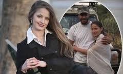Дафинка Мирчева и Саади Кадафи