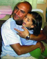 Емо Чолаков и дъщеря му Ема