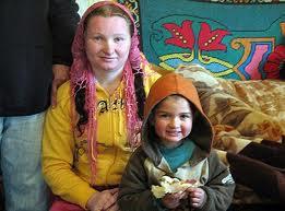 Рифка и внукът й