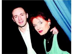Владимир Илчев заедно с майка си Светла Петрова