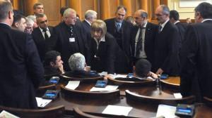 Шефката на парламента
