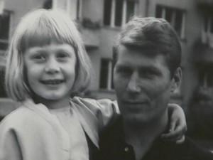 Никола Котков с дъщеря си Мария
