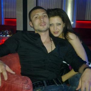 Орлинов с приятелката си Силвия, от която има дъщеря