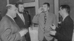 Пашата и Бойко - снимка от мутренския им период