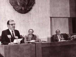 Петър Младенов - първият български президент