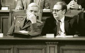 Добри Джуров и Петър Младенов - заговортиците, които смъкнаха Живков от властта