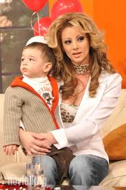 Таня Боева със сина си Росен