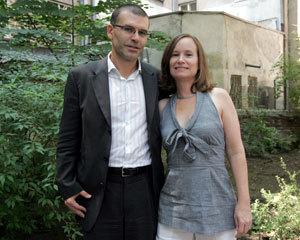 Симеон Дянков със законната му все още съпруга Каролин Фройнд