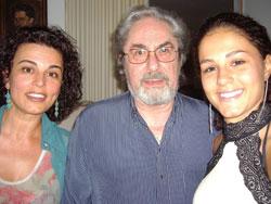 Анна Мария и Никола с дъщеря им