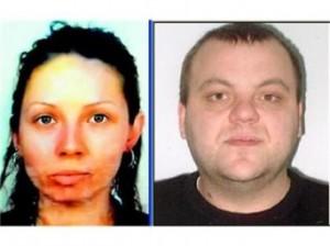 Убитата Яна Кръстева и заподозреният Чеци