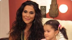 Ивайла Бакалова с дъщеря си Рая