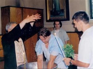 Единствената снимка на Мето - от кръщенето на Демби