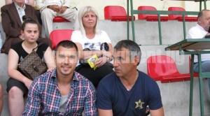 Валери заедно с втория си баща Сашо Ангелов