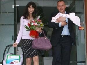 Моника Йосифова, Сергей Станишев и дъщеричката им