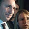 Христо Стоичков и дъщеря му Михаела