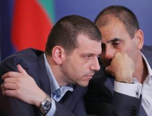 Калин Георгиев и Цветан Цветанов, докато все още си бяха близки