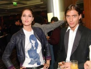 Руши Видинлиев и дългогодишната му приятелка Таня Илиева