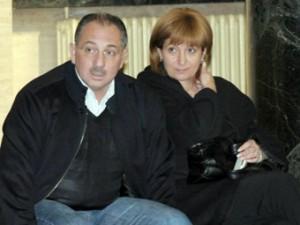 Ангел Бончев и съпругата му Камелия