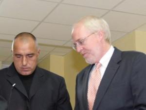 Джон Байърли и Борисов