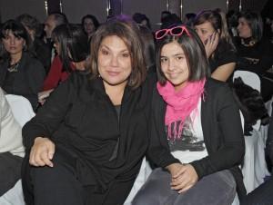 Мартина Вачкова с дъщеря си Рада