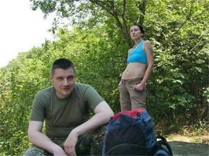 Силвия обичала да се разхожда сред природата с приятели