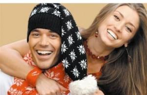 Ники Илиев с годеницата си Саня Борисова