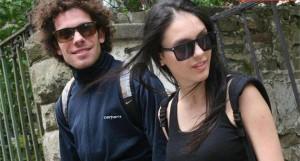 Явор Бахаров с приятелката си Луиза Григорова