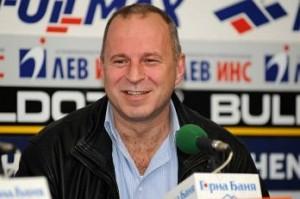 """Юри Галев,докато все още беше сред живите и се изживяваше като президент на ФК """"Рилски спортист"""" и какво ли още не..."""