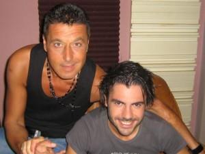 Георги Христов и италианския певец Джани Фиорелино