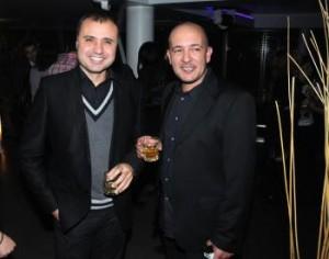 """Евгени Димитров със своя колега Годжи от """" Шоуто на Слави"""""""