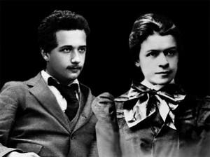 Айнщайн се скъсвал да изневерява на жена си Милева
