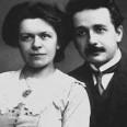 Алберт Айнщайн с първата си съпруга - сръбкинята Милева Марич