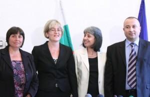 Жанета Петрова, Даниела Машева, Маргарита Попова и Христо Ангелов
