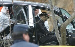 Иван Тодоров Доктора минути след като бе разстрелян в колата си