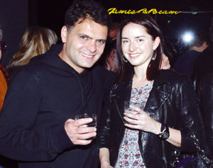 Васко Василев и  бившата му изгора Кристин Сунд
