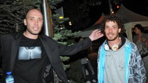 Захари Бахаров с брат си Явор