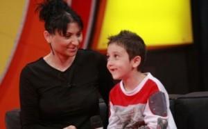 Софи Маринова със сина си Лоренцо
