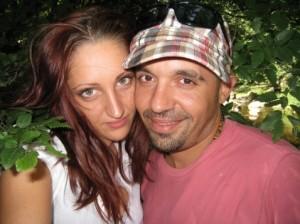 Дичо и бъдещата му съпруга Карина