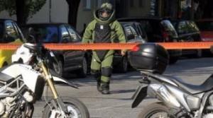 Сапьори прибраха кашона с взрива