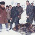 Тодор Живков с ловната си дружинка
