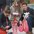 Том Круз със семейството си
