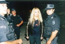 Арестувана жена