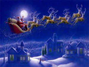 Елените на Дядо Коледа