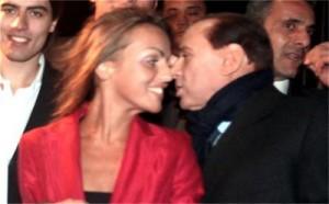 Силвио Берлускони и Франческа