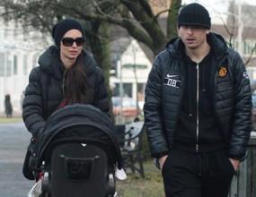 Димитър Бербатов и Елена