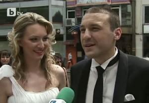 Петър Нанев и съпругата му