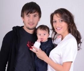 Ромина Андонова, Дарко Тасевски и бебето Дария