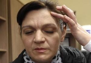 Ирена Дойчинова е пребита от полицаи на протеста