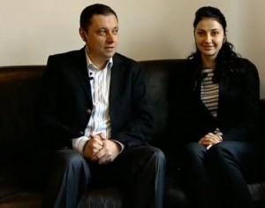 Яне и жена му