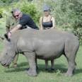 Антония Петрова опитоми носорог